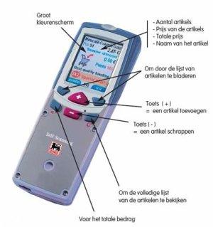 Delhaize handscanner