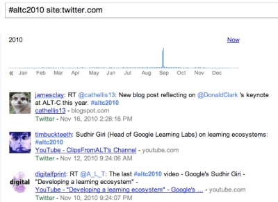 AltC2010 on google