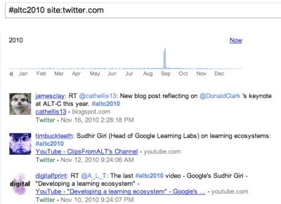 AltC2010 on google