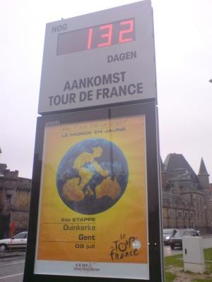 Tour komt naar Gent